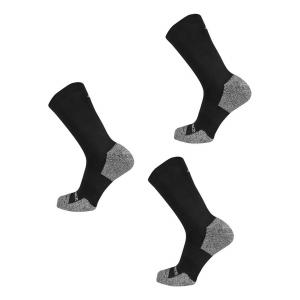 New Balance Cushioned Nylon Crew Running 3 Pair Socks(M)