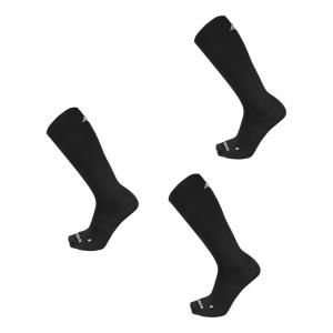 New Balance Running Flat Knit Nylon Crew 3 Pair Socks(S)