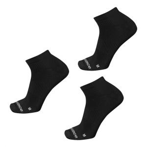 New Balance Running Flat Knit Nylon No Show 3 Pair Socks(XL)