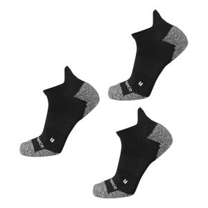 New Balance Cushioned Nylon Low Cut Tab Running 3 Pair Socks(XL)