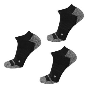 New Balance Cushioned Nylon No Show Running 3 Pair Socks(L)