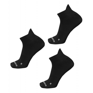 New Balance Running Flat Knit Nylon No Show Tab 3 Pair Socks(S)