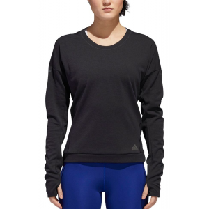 Womens Adidas Supernova Sweatshirt Long Sleeve Technical Tops(XL)