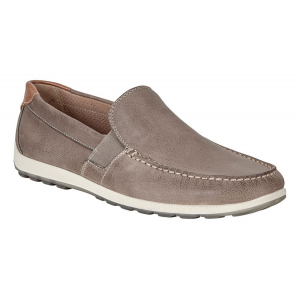 Mens Ecco Dip Lux Moc Casual Shoe(6.5)