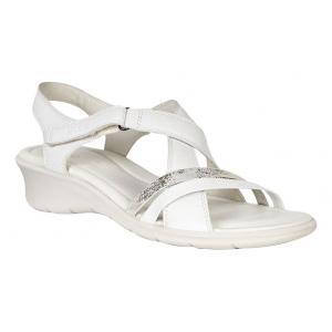 Womens Ecco Felicia Sandals Shoe(4.5)