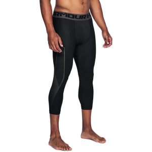 Mens Under Armour HeatGear Graphic 3/4 Compression Tights(L)