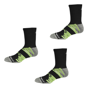 New Balance Short Crew Trail Running 3 Pair Socks(M)