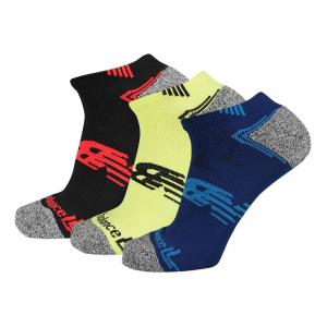 New Balance No Show Running 3 Pair Socks(M)