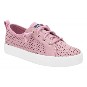 Kids Sperry Crest Vibe Perf Casual Shoe(2.5Y)
