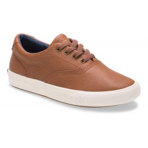 Kids Sperry Striper II Leather Casual Shoe(2Y)