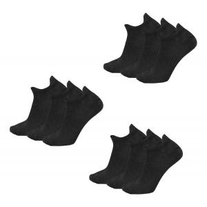 New Balance Lifestyle Marl Double Tab 9 Pair Socks(M)