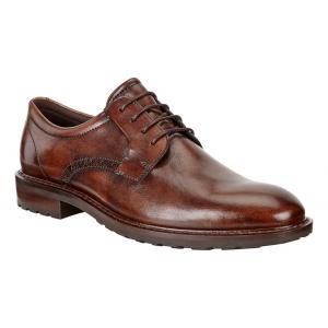 Mens Ecco Vitrus I Plain Toe Tie Casual Shoe(6.5)
