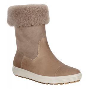 Womens Ecco Soft 7 Lug Boot Casual Shoe(9.5)