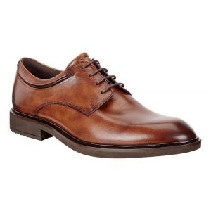 Mens Ecco Vitrus II Apron Toe Tie Casual Shoe(10.5)