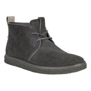 Mens Ecco CrepeTray Chukka Mid Casual Shoe(11.5)