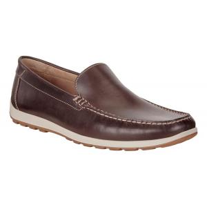 Mens Ecco Dip Moc Casual Shoe(5.5)