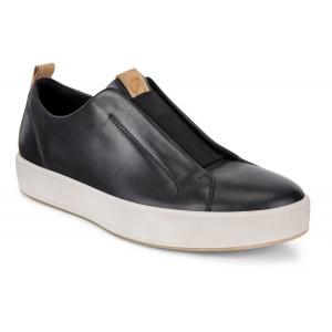 Mens Ecco Soft 8 LX Retro Slip On Casual Shoe(6.5)