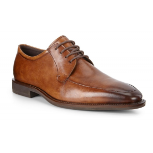 Mens Ecco Calcan Apron Toe Tie Casual Shoe(6.5)