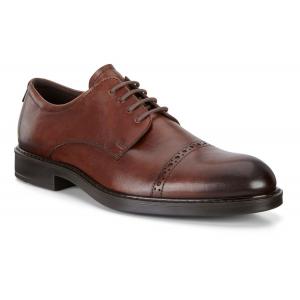 Mens Ecco Vitrus III Cap Toe Tie Casual Shoe(6.5)