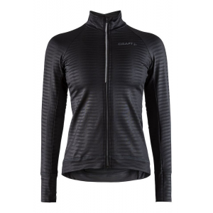 Womens Craft Velo Thermal Jersey 2.0 Long Sleeve Technical Tops(M)