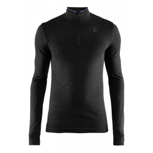 Mens Craft Fuseknit Comfort Zip Long Sleeve Technical Tops(M)
