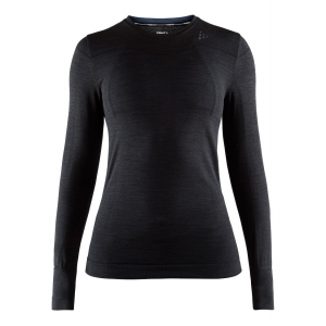 Womens Craft Fuseknit Comfort RN Long Sleeve Technical Tops(L)