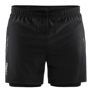 Mens Craft Essential 2-in-1 Shorts(S)