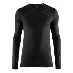 Mens Craft Fuseknit Comfort RN Long Sleeve Technical Tops(M)