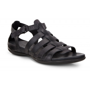 Womens Ecco Flash Strappy Sandals Shoe(5.5)