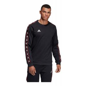 Mens Adidas Tango Tape Club House Crew Sweatshirt Long Sleeve Technical Tops(L)