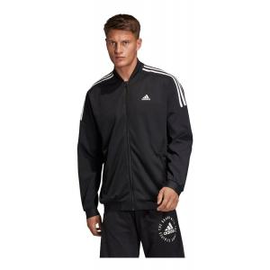 Mens Adidas Sport ID Woven Bomber Running Jackets(M)