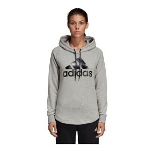 Womens Adidas Must Haves Badge of Sport Pullover Half-Zips & Hoodies Technical Tops(M)