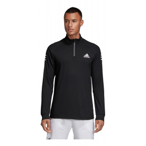 Mens Adidas Club 1/2 Zip Midlayer Half-Zips & Hoodies Technical Tops(S)