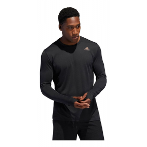 Mens Adidas Prism Tee Long Sleeve Technical Tops(M)
