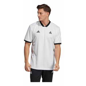 Mens Adidas Tango ADV Jersey Short Sleeve Technical Tops(M)