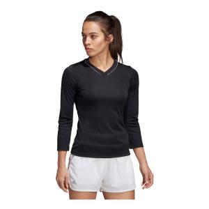 Womens Adidas Club 3/4 Sleeve Tee Long Sleeve Technical Tops(M)