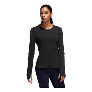 Womens Adidas Own The Run Tee Long Sleeve Technical Tops(M)
