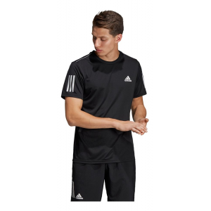 Mens Adidas Club 3-Stripe Tee Short Sleeve Technical Tops(M)