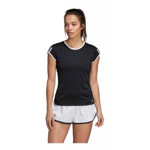 Womens Adidas Club 3-Stripe Tee Short Sleeve Technical Tops(M)