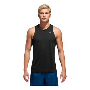 Mens Adidas Own the Run Singlet Sleeveless & Tank Technical Tops(S)