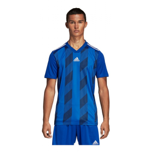 Mens Adidas Striped 19 Jersey Short Sleeve Technical Tops(M)