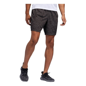 Mens Adidas 4KRFT 8-inch Striped Heather Unlined Shorts(XL)