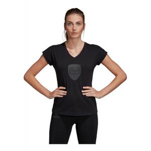 Womens Adidas USA Volleyball Tee Short Sleeve Technical Tops(XL)