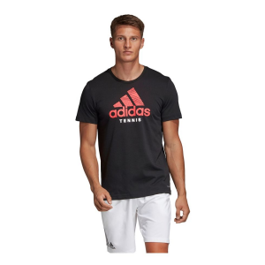 Mens Adidas Category Graphic Tee Short Sleeve Technical Tops(L)