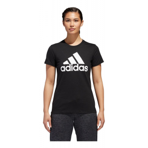 Womens Adidas Badge of Sport Classic Tee Short Sleeve Technical Tops(L)