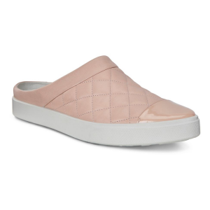Womens Ecco Gillian Quilted Slide Casual Shoe(9.5)