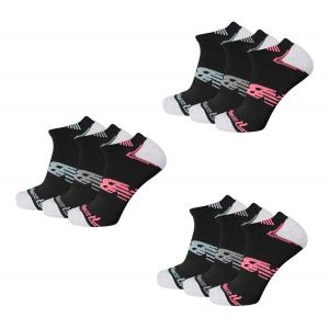 New Balance No Show Running Socks 9 Pair Pack Socks(M)