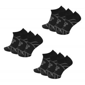 New Balance Flat Knit No Show Socks 9 Pair Pack Socks(L)