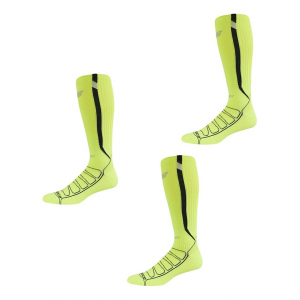 New Balance Glow Over The Calf Compression Running Socks 3 Pair Pack Socks(L)