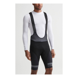 Mens Craft Hale Glow Bib Cycling Shorts(S)